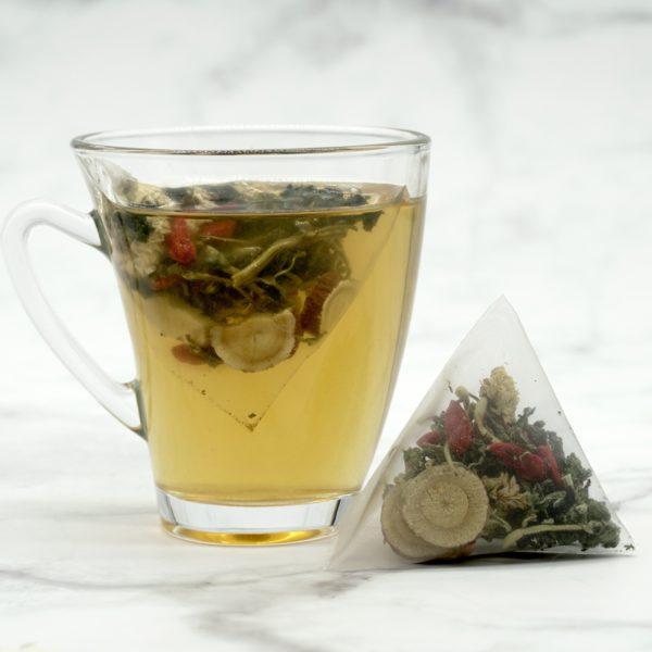 Refreshing Mint Revitalise Tea 金银薄荷甘草茶