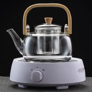 Boutique Glass Beam Boiling Tea Pot Promotion Malaysia