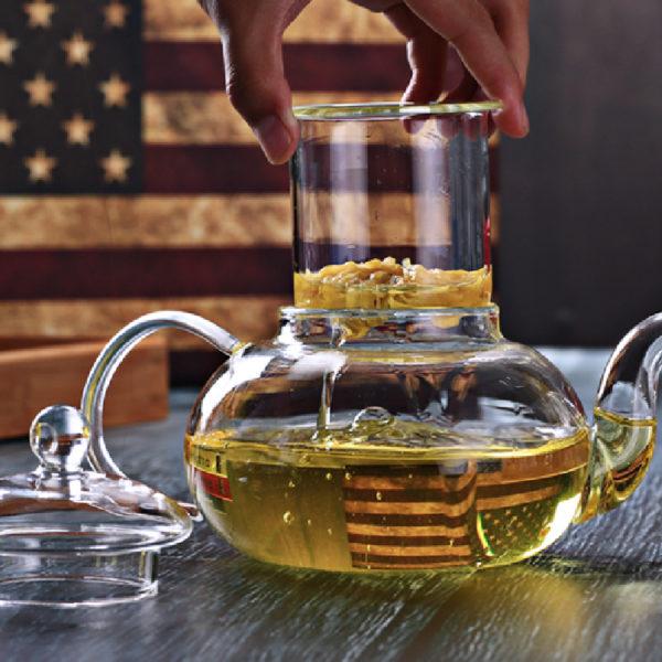 Demi Thickened Elegant Borosilicate Glass Tray Tea Price Malaysia