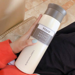 Simple Literary Frosted Vacuum Flask Promotion Malaysia