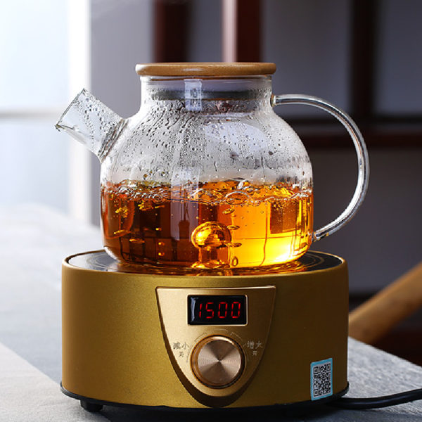 Wooden Lid Heat Resistant Teapot Price Malaysia